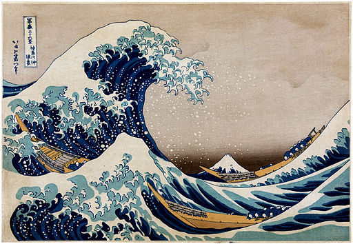 Flickr - …trialsanderrors - Hokusai, Under the great wave off Kanagawa, ca. 1832