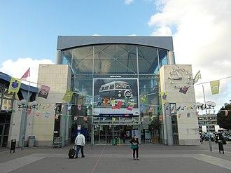 Gare de Nantes - Entrance hall of the Gare de Nantes