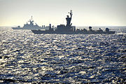 Flickr - Israel Defense Forces - Israeli and Greek Navies Join Forces in Drill