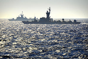 Energy Triangle - Greek and Israeli naval forces in a joint drill conducted in the area