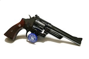 Smith & Wesson Model 27 - Image: Flickr ~Steve Z~ S^W Pre 27 Six Inch (4)