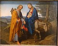 Flight into Egypt, by Joseph von Fuhrich, 1834, oil on panel - Germanisches Nationalmuseum - Nuremberg, Germany - DSC03480.jpg