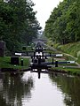 Flight of locks at Swanbach - geograph.org.uk - 183742.jpg