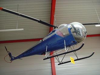 Brantly International - A Brantly B.2 on display at the Flugausstellung Hermeskeil