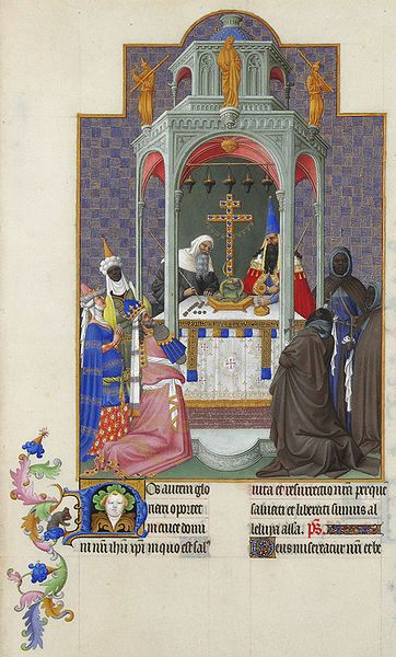 File:Folio 193r - The Exaltation of the Cross.jpg