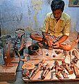 Fonte à la cire perdue (Tanjore, Inde) (13909866017).jpg