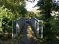 Footbridge from the churchyard, Llancarfan, Vale of Glamorgan - geograph.org.uk - 1028353.jpg