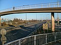 Footbridge over the A63 at Hessle Haven - geograph.org.uk - 319967.jpg
