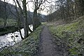 Footpath beside Hebden Water - geograph.org.uk - 431906.jpg