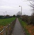 Footpath between Cote Lane and Ring Road - geograph.org.uk - 620943.jpg