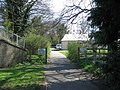 Footpath entrance to Viables Craft Centre - geograph.org.uk - 775166.jpg