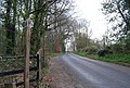 Footpath signpost, Dibden Lane - geograph.org.uk - 1255941.jpg