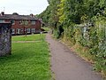 Footpath through Gaer Vale, Newport - geograph.org.uk - 2566866.jpg