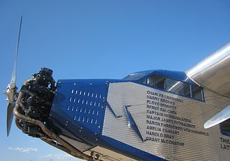 Bernt Balchen - A Ford Trimotor once flown by Balchen