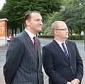 Foreign Minister Urmas Paet met with Foreign Minister of the Republic of Poland Radoslaw Sikorski in Tallinn. 27 August 2012 (7871446164).jpg