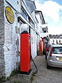 Former Garage and old sign, St Mawes - geograph.org.uk - 1576621.jpg