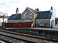 Former station building on the Up platform at Bamber Bridge railway station.jpg