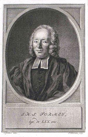 Johann Heinrich Samuel Formey
