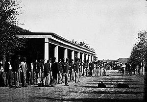 Fort Sumner - U.S. troops at Fort Sumner.