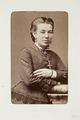 Fotografiporträtt på Ottilie Hohenester alternativmedicinsk doktor - Hallwylska museet - 107736.tif