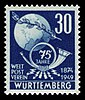 Fr. Zone Württemberg 1949 52 Weltpostverein.jpg
