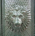 Fr Grenoble Lion adversiting column and fountain Detail.jpg