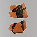 Fragments of a terracotta amphora (jar) MET DP104353.jpg