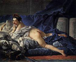 François Boucher: Brown Odalisque