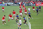 Match between France and Tonga at the 2011 Rugby World Cup