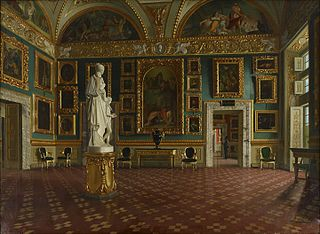 Sala dell'Iliade in the Pitti Palace, Florence