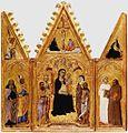 Francesco di Vannuccio. Trittico, c. 1360-1370 Pinacoteca Nazionale, Siena.jpg