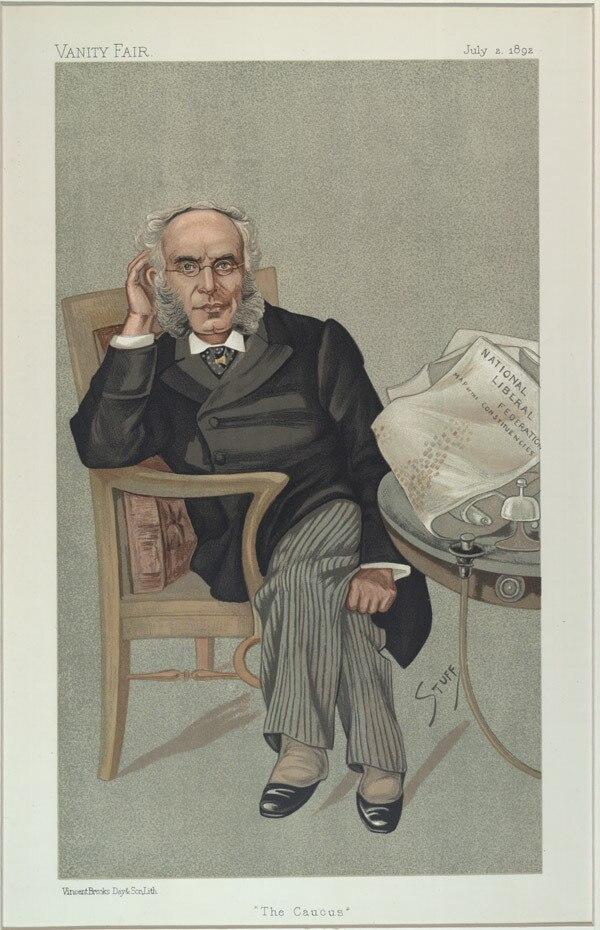 Francis Schnadhorst, Vanity Fair, 1892-07-02