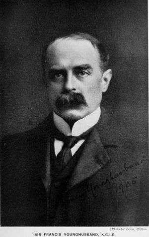 Francis Younghusband - Francis Younghusband c. 1905