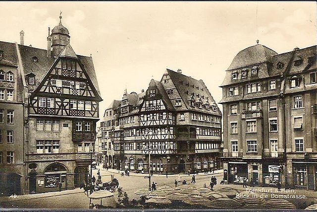 File Frankfurt Am Main Braubachstrasse Domstrasse