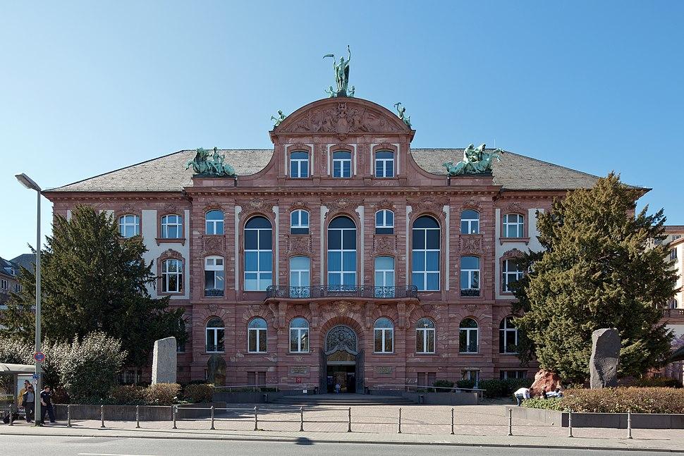Frankfurt Am Main-Senckenberg Naturmuseum von Osten-20120325