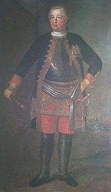 Friedrich Wilhelm als Kronprinz, 1705 (Quelle: Wikimedia)