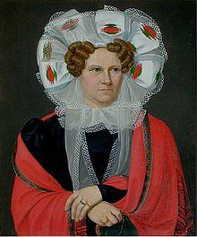 Friederike Brun, 1818 (Quelle: Wikimedia)