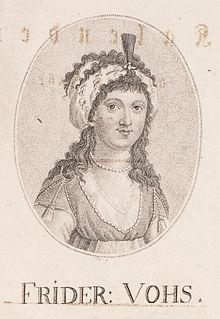 Friederike Vohs German actress, singer and opera singer