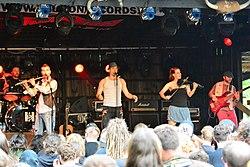 Frikin beim Hörnerfest 2014