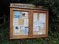 Frindsbury Extra Parish Council notice board Upnor 5609.JPG