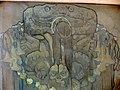Friso central de 'Nuestros dioses' (Coatlicue), de Saturnino Herrán en el Museo Aguascalientes 03.jpg