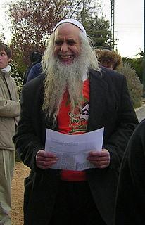Menachem Froman Israeli Orthodox Jewish rabbi