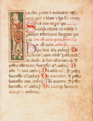 Rodrigo Jiménez de Rada - Fuero Viejo extendido de Alcalá de Henares (Rodrigo Jiménez de Rada, 1235).
