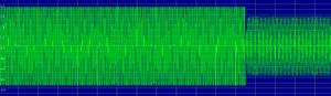 Tone remote - A function tone waveform.