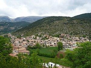 Gósol - Image: Gósol des del castell