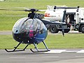 G-CIWU Hughes 369 Helicopter (28543495382).jpg