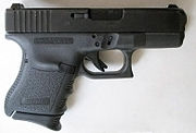 A subcompact Glock 29 in the powerful 10mm Auto cartridge.