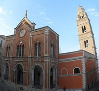 Gaeta, Basilica Cattedrale - Facciata.jpg