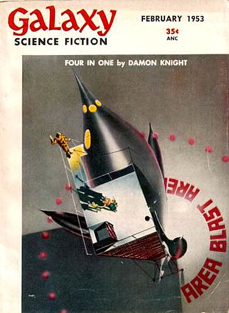 """A Saucer of Loneliness - """"A Saucer of Loneliness"""" was originally published in the February 1953 issue of Galaxy."""