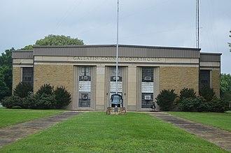 Shawneetown, Illinois - Gallatin County Courthouse